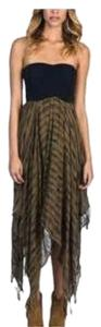 Black and Olive Green Maxi Dress by Billabong