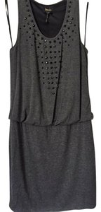 Laundry by Shelli Segal short dress Dark Charcoal on Tradesy