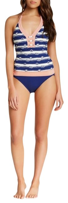 Item - Navy Knotty & Nice Maillot Swimsuit One-piece Bathing Suit Size 6 (S)