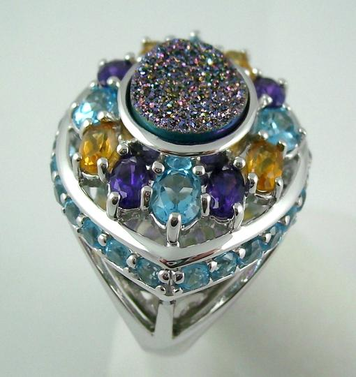 Other Violet Drusy 5.04ct Sterling