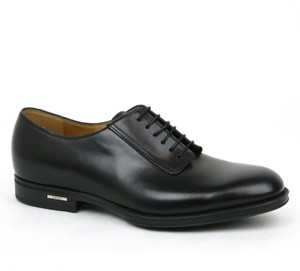 Gucci Men's Lace-up Dress Shoes W/logo Size 8 /us 9 368431 1000