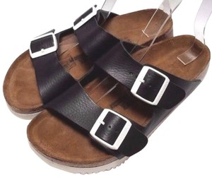 Birkenstock Super Grip Soft Footbed Black Sandals
