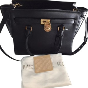 Michael Kors Model 35s6ghxs3l Satchel in BLACK