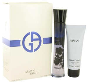 Giorgio Armani Armani Code Perfume by Giorgio Arman-Gift Set - 2.5 oz Eau De Parfum Spray + 2.5 oz Body Lotion