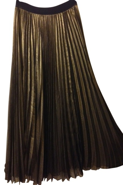 Item - Gold Maxazria Long Skirt Size 6 (S, 28)