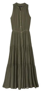 olive green Maxi Dress by Banana Republic Summer Maxi