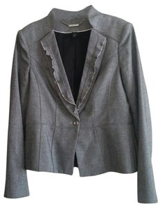 White House | Black Market Black Tweed Blazer