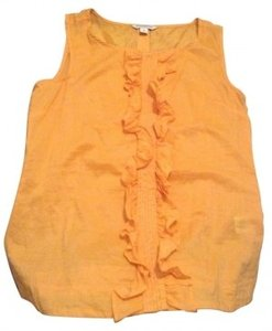 Banana Republic Top Bright Orange