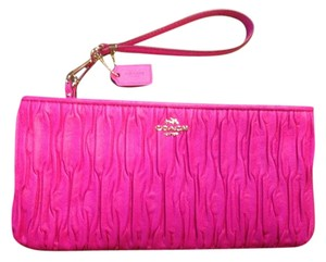 Coach Madison Wristlet in Pink