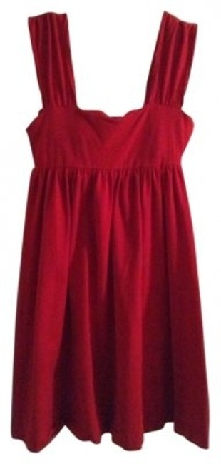 Preload https://img-static.tradesy.com/item/181101/victoria-s-secret-red-above-knee-short-casual-dress-size-4-s-0-0-650-650.jpg