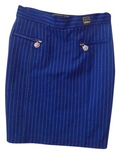 Versace Mini Skirt electric blue