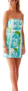 Lilly Pulitzer Tansy Preppy Strapless Dress