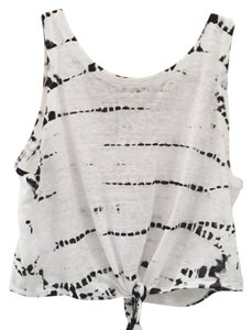 Alice + Olivia Top Black/White