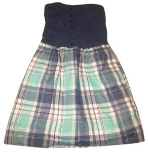 Guess short dress Blue, white, green on Tradesy