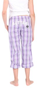 Butter School Children New Cotton Wide Leg Pants Purple Multi
