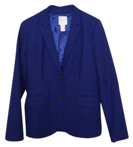 J.Crew Size 6 2 Button Royal blue Blazer