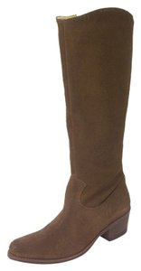 Matisse Burnished Suede Cowboy Toffee brown Boots
