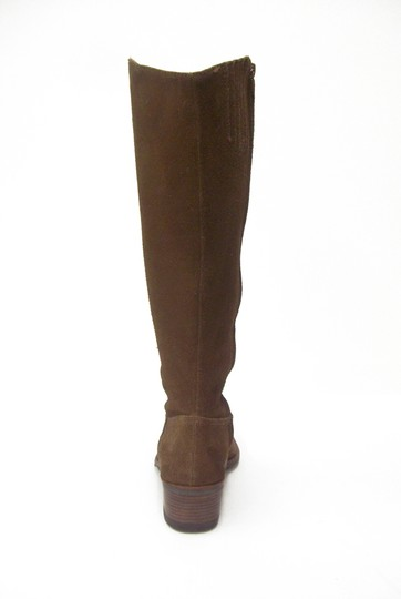 Matisse Burnished Suede Cowboy Knee High Western Toffee brown Boots