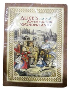 7321design Alice in Wonderland Blank Paper Notebook