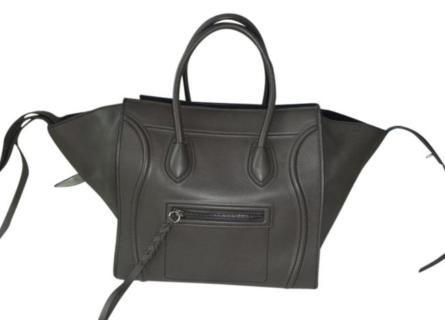 Item - Cabas Phantom Bag Excellent Condition Gray Leather Tote