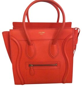 Céline Tote in Orange