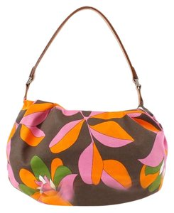 Kate Spade Canvas Leather Handle B148 Hobo Bag