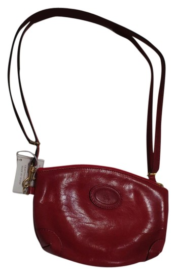 Leather Craftsmen Rome Italy Convertible Cross Body Bag