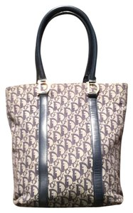 Dior Tote in Navy Blue