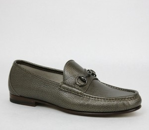 Gucci Men's Crackled Metallic Horsebit Loafer Gucci 7.5/us 8.5 357182 9640