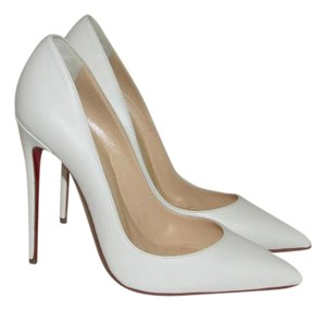 Christian Louboutin Neige White Pumps