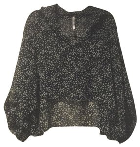 ANGL Top Black and White