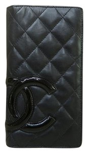 Chanel Chanel Quilted Ligne Cambon Vertical Wallet