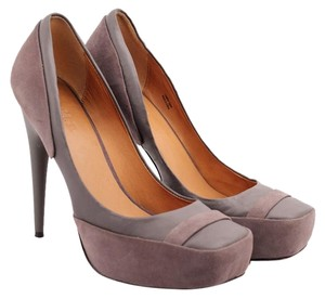 L.A.M.B. Leisure Grey Pumps