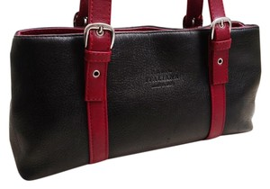 Pelletteria Italiana Satchel in Red/Black