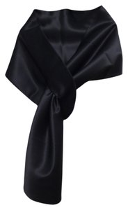 Coast Coast Black Satin shawl