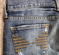 7 For All Mankind Colette Distressed Straight Leg Jeans-Distressed Image 4