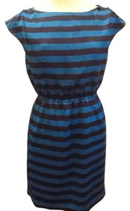 Vince Camuto short dress Navy blue and light blue on Tradesy