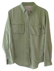 ExOfficio *Exofficio Moss Green Long-Sleeve Button-Up