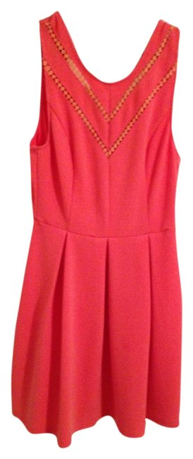 Preload https://item1.tradesy.com/images/ark-and-co-pink-above-knee-cocktail-dress-size-10-m-1811765-0-0.jpg?width=400&height=650