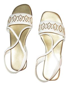 May Co white Sandals