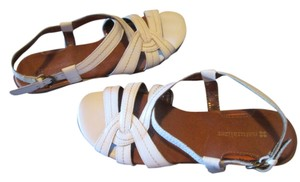 Naturalizer White Sandals