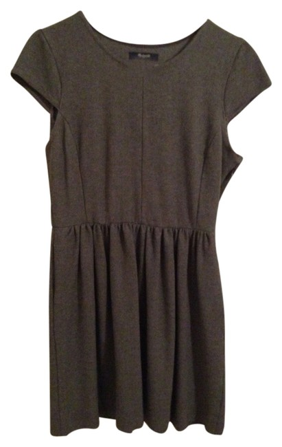Preload https://item5.tradesy.com/images/madewell-gray-knee-length-workoffice-dress-size-8-m-1811839-0-0.jpg?width=400&height=650