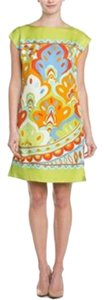 J.McLaughlin short dress Citron Silk Sheath Summer Day on Tradesy