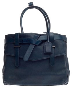 Reed Krakoff Leather Tote in Teal
