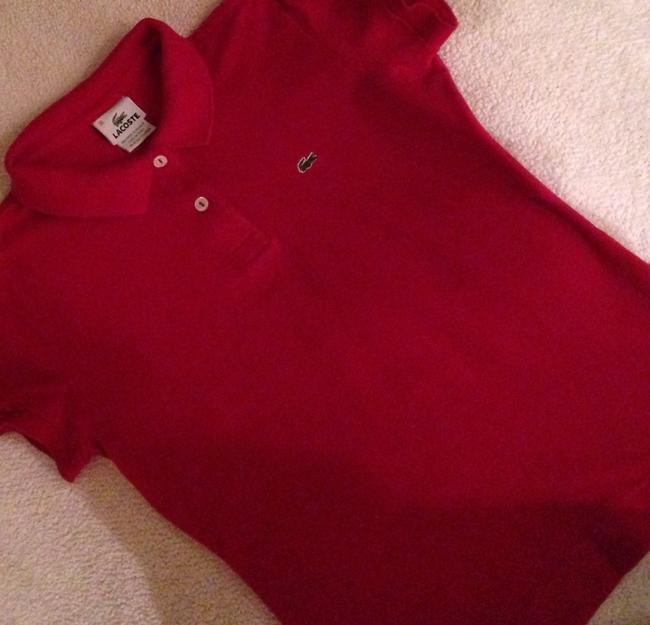 Lacoste T Shirt Red