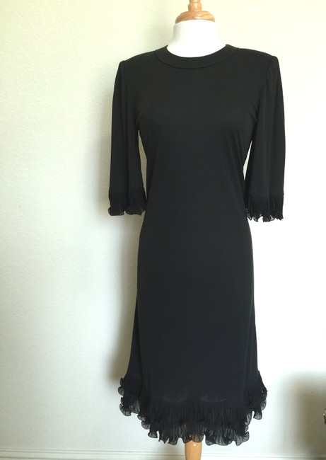 Averardo Bessi Italian Vintage Silk Sheath Dress