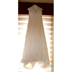 DaVinci Halter Lace Wedding Dress