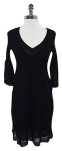 Missoni short dress Black Knit Long Sleeve on Tradesy