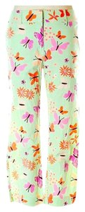 Lilly Pulitzer Capris Mint orange purple