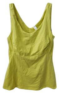 Gap Gap Fit Neon Yellow Tank top